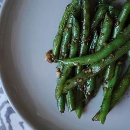 Asian Garlic Green Beans