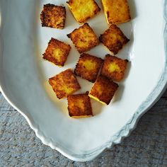 Broiled Polenta Cakes