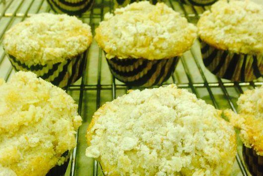 maple cream cheese spice muffins