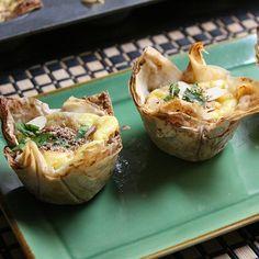 B'Steeya in Phyllo Cups