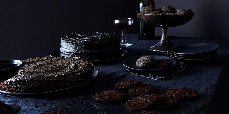 Jet black desserts—boo!