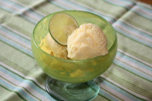 Mango-Lime Ice Cream