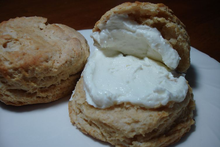 Curds & Whey Biscuits with Infused Honey & Ricotta Spread