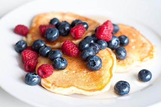 Whole Wheat Greek Yogurt Pancakes