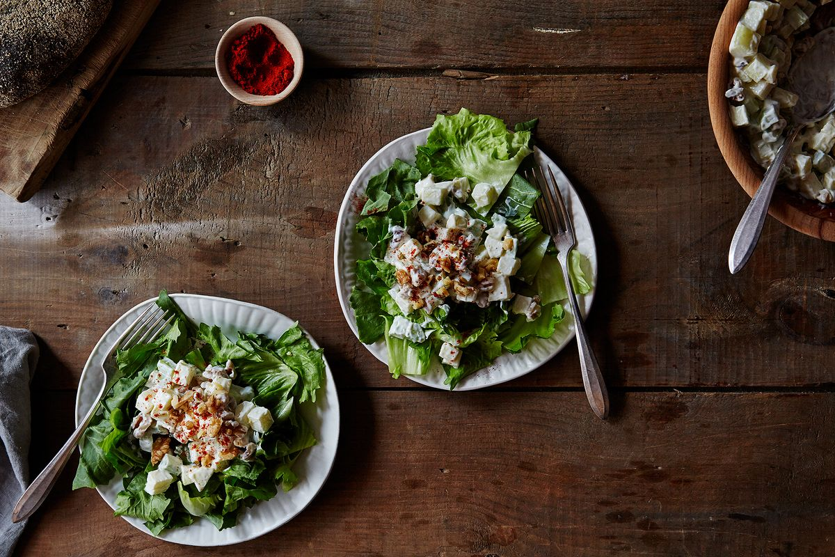 New York Waldorf Salad Recipe