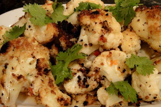 Cauliflower with Nam Pla Minnow