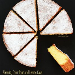 Almond, Corn flour and Lemon Cake (Gluten-free)