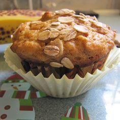Pumpkin/Banana Oatmeal Muffins