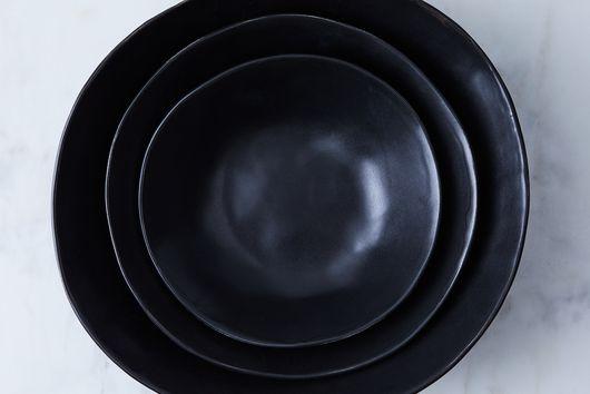 Handmade Wabi Sabi Nesting Serving Bowls