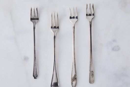 Vintage Cocktail Forks (Set of 4)