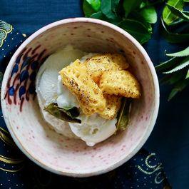 Coconut Kaffir lime Ice cream