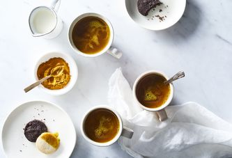 A Turmeric Importer's Trick For Feel-Really-Good Coffee