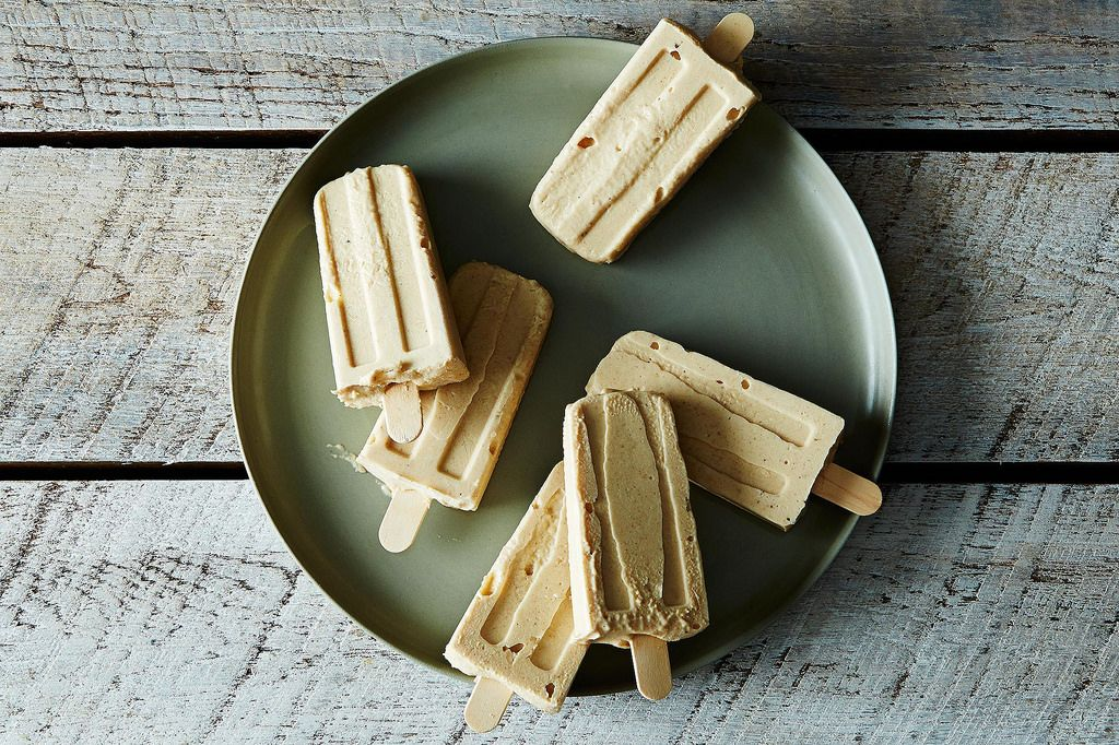 Roasted Banana Ice Pops