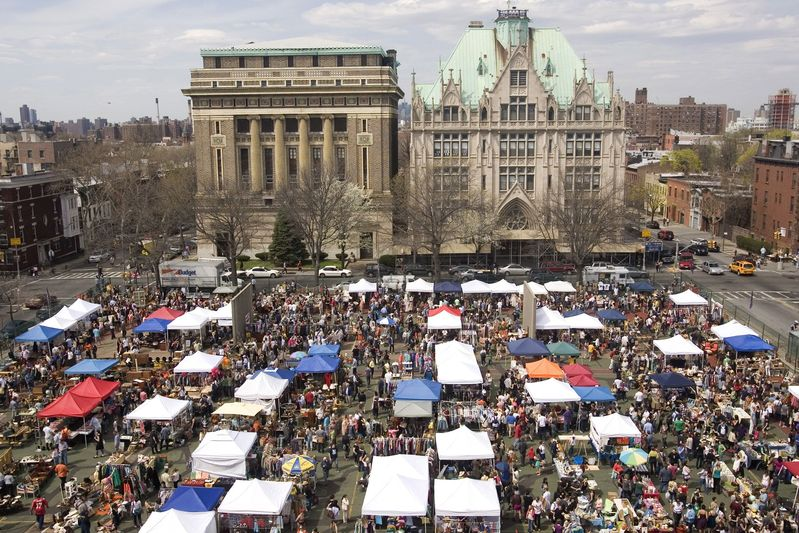 fort greene brooklyn flea