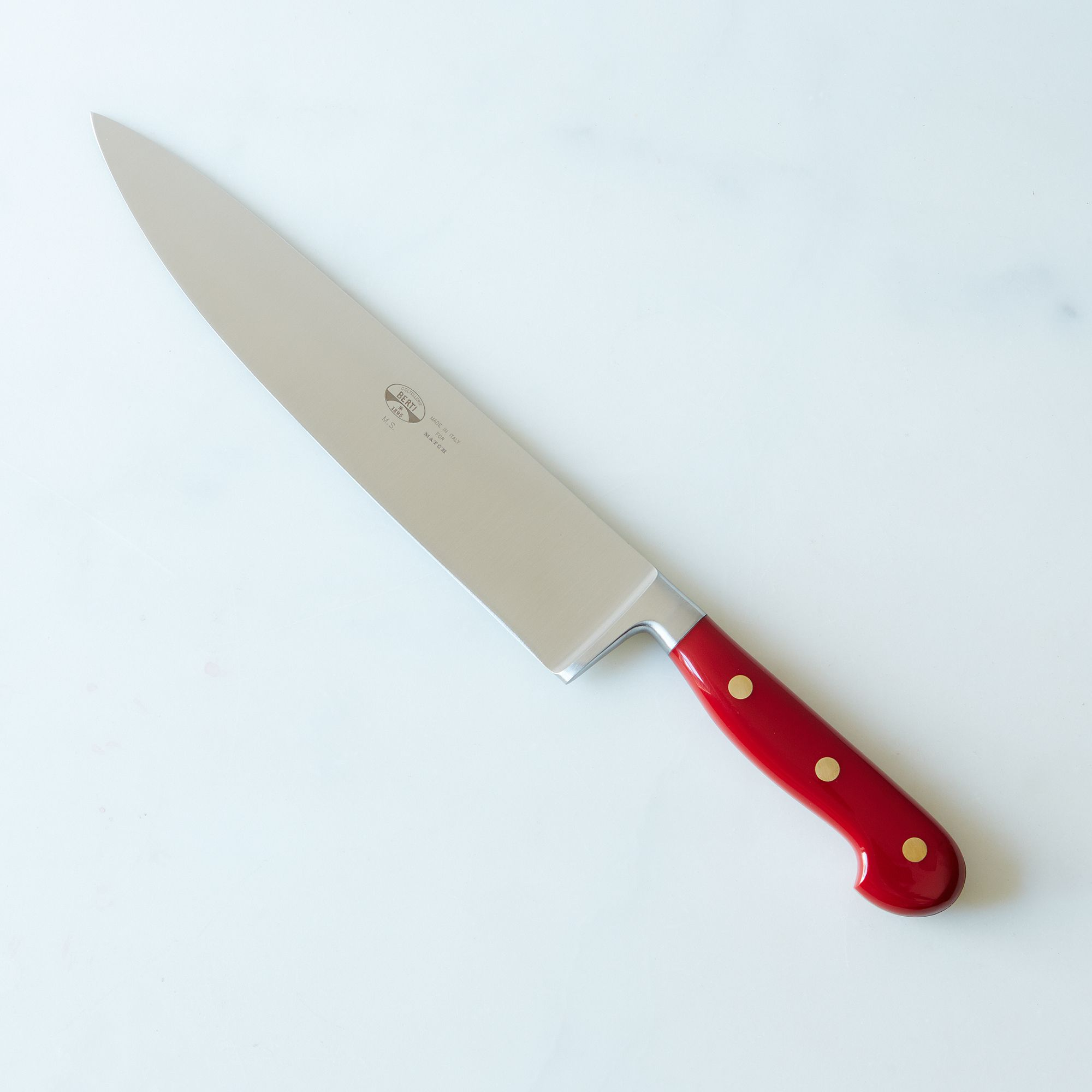 2bc02499 d463 45cd bcc7 e38fbcd9ab9f  2015 0107 match red handled knives chef knife 032
