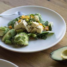 Avocado Asparagus Salad