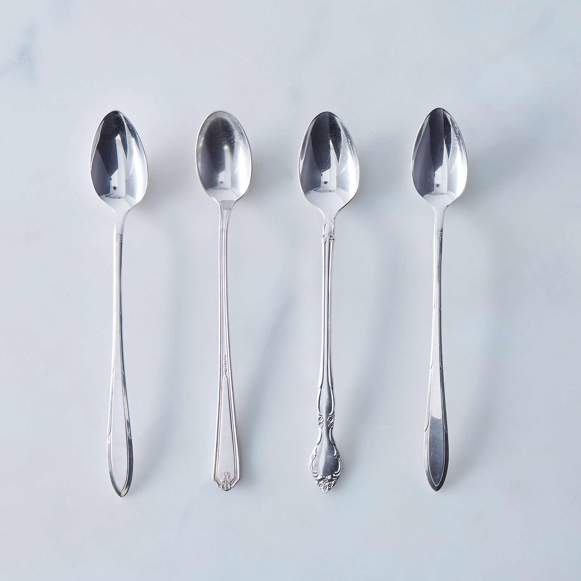 Vintage Iced Tea Spoons (set Of 4)