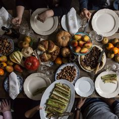 Tips for Running a Thanksgiving Potluck (& a Recipe for Pear-Chestnut Pie)