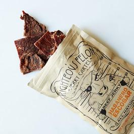 Habanero Escobar Beef Jerky (Pack of 4)