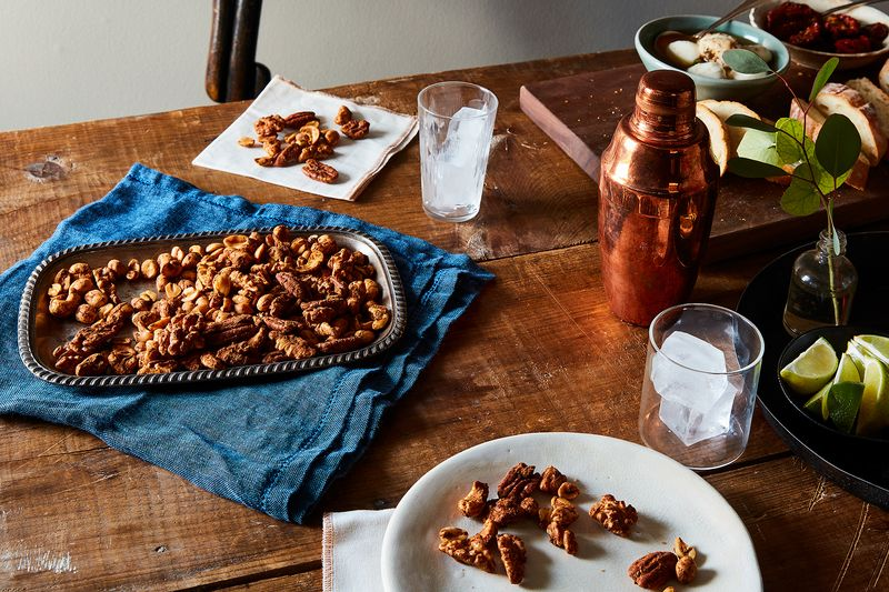 Five Spice Oven Roasted Nuts