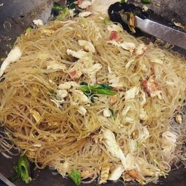 Curried Crab Glass Noodles