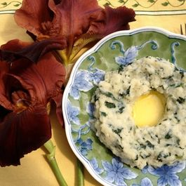 Turnip Greens Colcannon---Best Mashed Potatoes