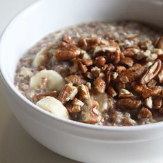 Breakfast Quinoa with Oats and Chia Seeds