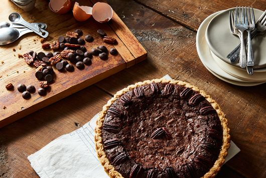 Last-Minute Chocolate Pecan Pie