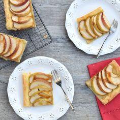 French Apple Tart (Tarte Fine aux Pommes) [vegan]