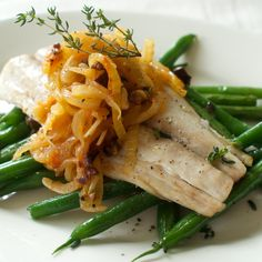 Mackerel with Fennel and Onion Sofrito