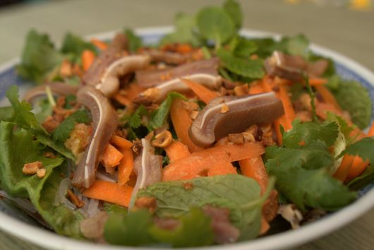 Vietnamese-Style Spicy Pig Ear Salad