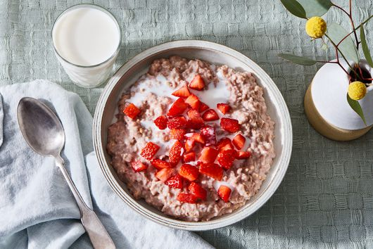 Strawberry Oatmeal From Marcus & MJ Hill