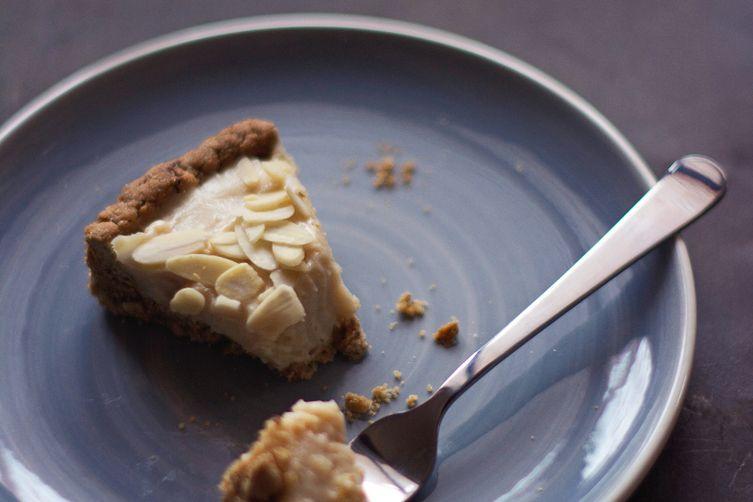 Lemon curd tart (V + GF)