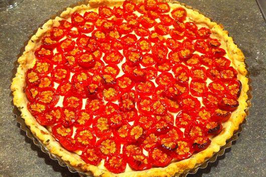 Cherry Tomato Tart Remix