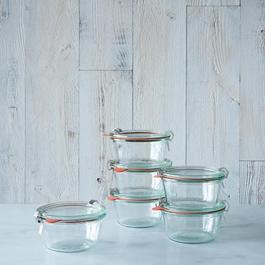 Weck Mold Jar (Set of 6)