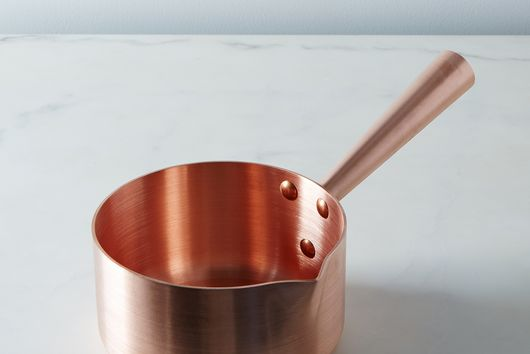Mauviel M'passion Copper Sugar Saucepan, 1.9QT