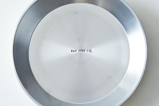 Hidden Quote Pie Plate, 9""