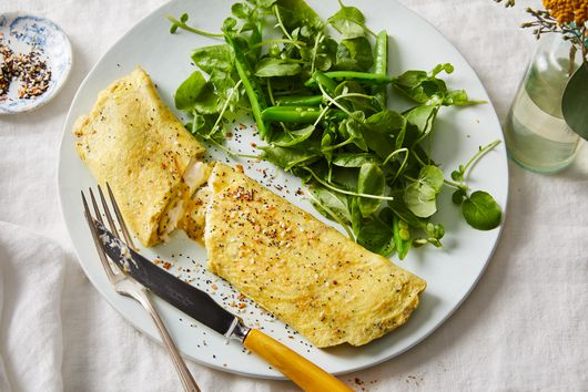 This Cheesy Omelet Is Our Everything