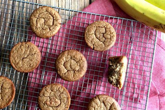 Almond Banana Bread Muffins