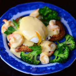 Hearst Castle's Eggs Newberg
