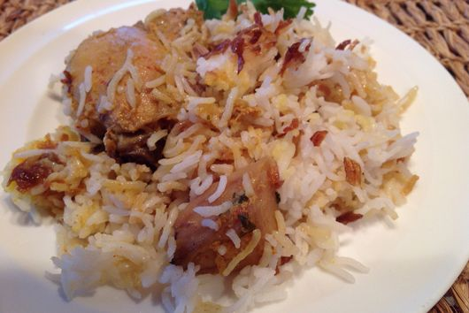 Hyderabadi Chicken Biriyani
