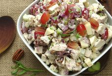loaded chicken salad