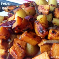 Sweet Potato Apple Hash