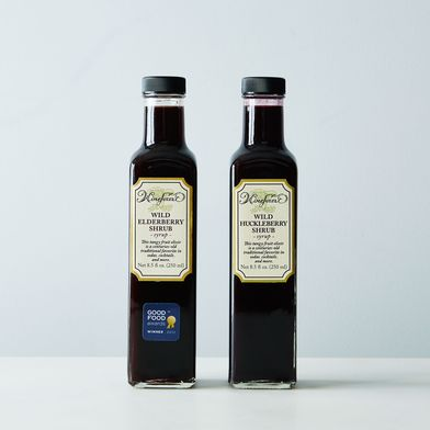 Wild Elderberry & Wild Huckleberry Shrub (2 Bottles)