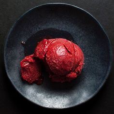 Strawberry Habanero Sorbet