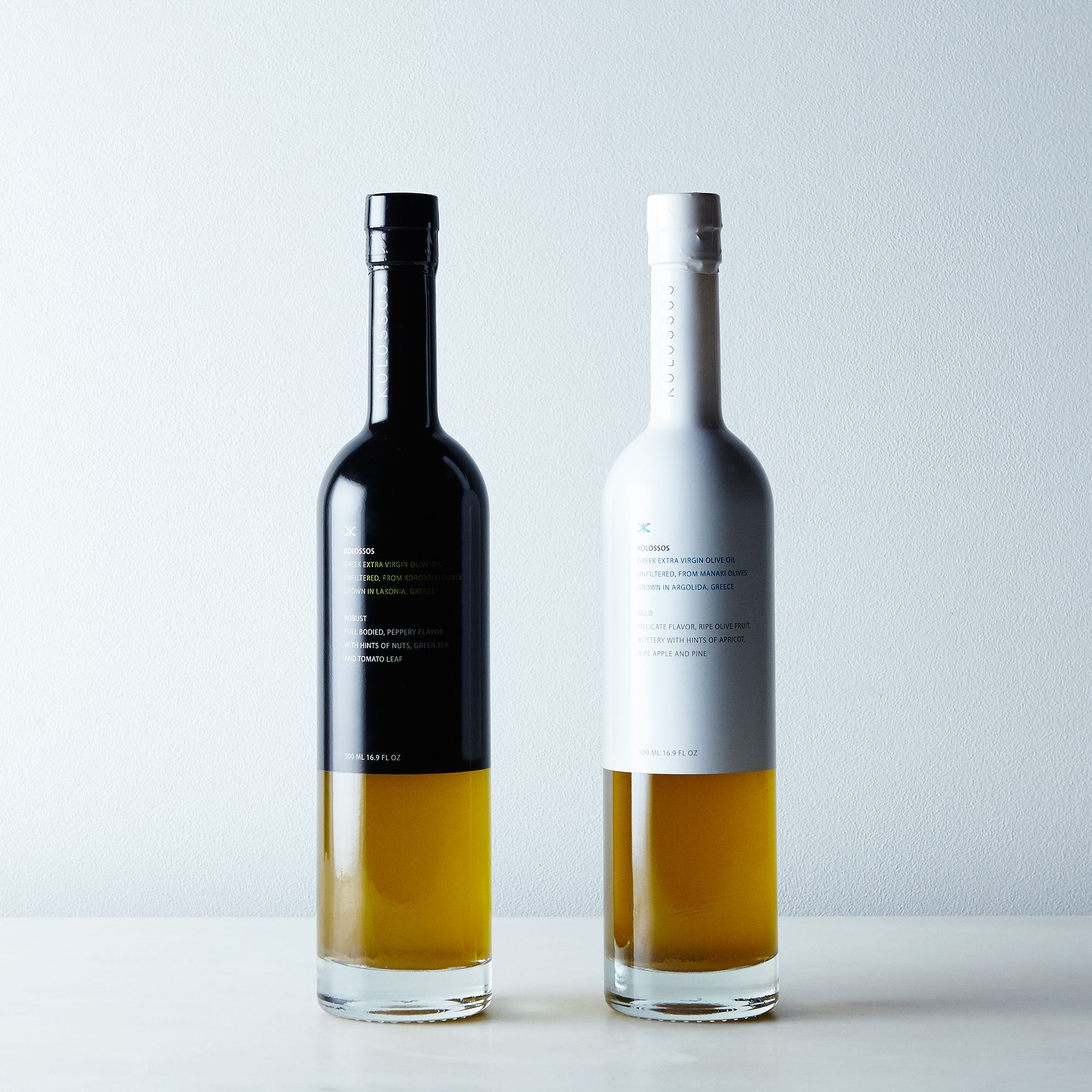 olive oil cruets that you'll actually want out on the counter - unfiltered greek extra virgin olive oil set