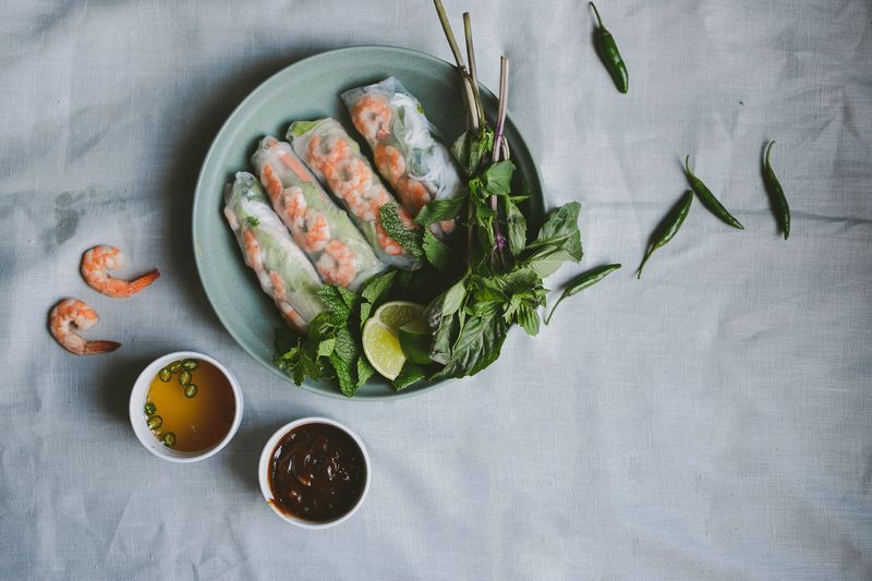 How to Make Cambodian-Style Spring Rolls