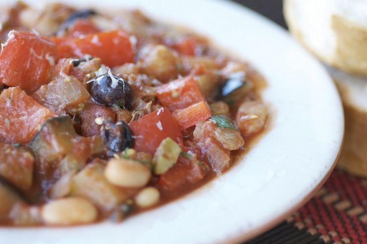 Mediterranean Vegetable Stew with Olives