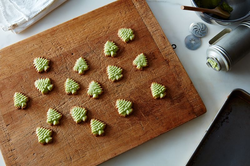 Spritz Butter Christmas Cookies
