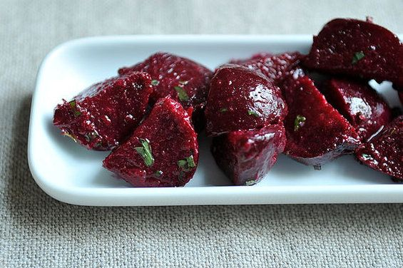 Beets and Herbs Salad